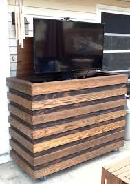 Outdoor Cabinet Idea Outdoor Homemade Custom Cabinet With Remote