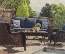 Fred Meyer Patio Furniture Covers by Palisades 4 Piece Wicker Sofa Set Includes 2 Wicker Cushioned