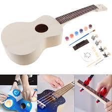Image Is Loading Rosewood Hawaii Guitar 23 039 Ukulele DIY