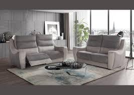 canapé 3 places relax electrique acheter votre canapé 3 places haut de dossier et relax électrique