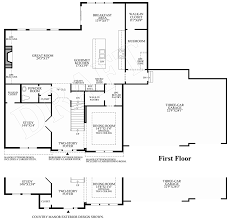 Ryland Homes Floor Plans Georgia by Reserve At Medina The Wheaton Home Design