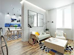 Home Designs: White Brick Design - Living Small With Style: 2 ... Small Open Plan Home Interiors Interior Design Apartments Ideas Designing For Super Spaces 5 Micro Marvelous One Room Apartment 1 Bedroom Best In 6446 Outstanding Modern Fniture Decor Moscow Beautiful 25 Loft Apartments Ideas On Pinterest Apartment Design Wow Cozy Living Your House