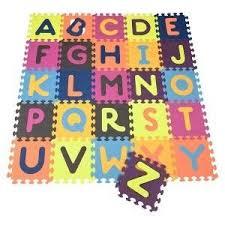Amazon B eautifloor Tiles Alphabet Mat Baby