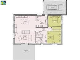 plan maison plain pied 2 chambres maison individuelle c t a de plain pied avec 2 chambres 80 m