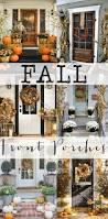 Halloween Porch Decorations Pinterest by Best 25 Fall Porch Decorations Ideas On Pinterest Harvest