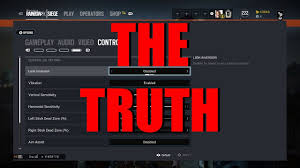 rainbow six siege console settings can you play on high
