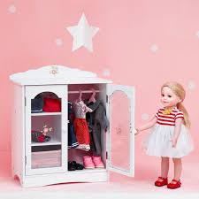 Doll Accessories Plastic Miniature Double Bed Toy Furniture For