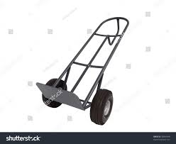 Movers Dolly Aka Hand Truck Isolated Stock Photo (Edit Now) 39844648 ...