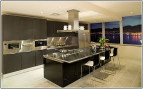 Charming Stainless Steel Kitchen Island With Seating And Counter Depth Side By Refrigerator In