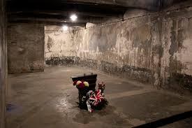 chambre a gaz chambre à gaz d auschwitz pologne photographie éditorial image