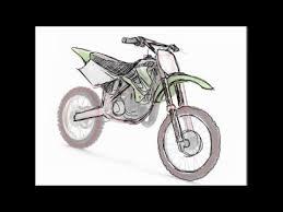 How To Draw Dirt Bike 2 Stroke