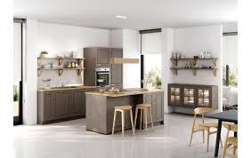 landhaus küche ka 56 180 im zeitgemäßen look in havannabraun