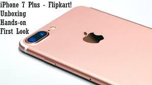 iPhone 7 Plus India Unboxing Flipkart Retail Unit