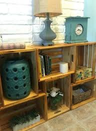 Milk Crates Storage Large Size Of Wooden Crate Bookcase Wood Shelves And Barrel