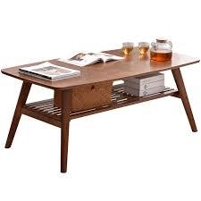 zeitgenössische bambus tisch beine faltbare natürliche finish bambus möbel kleine wohnzimmer klapptisch zentrum sofa kaffee tisch