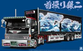 1:32 Scale GINZI OF YOZAKURA - Japanese Dekotora Truck Model Kit ...