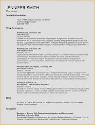 Resume Template In Spanish Best Of Example