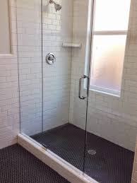 Home Depot Merola Hex Tile by White Gold Remodel Project Bathroom M Street Floor Tile Black