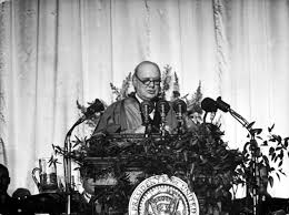 iron curtain speech photos from churchill s sinews of peace talk