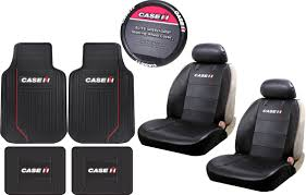 100 Walmart Seat Covers For Trucks 9 Piece Case IH International Harvester Logo Black Heavy Duty Front