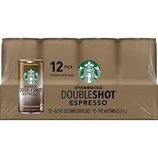 Starbucks DoubleShot Espresso 6 5 oz ea 12 pk