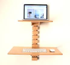 Lifehacker Standing Desk Diy by Wall Mounted Standing Desk Wall Mount Desks And Walls