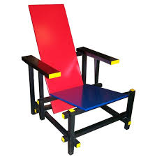 chaise rietveld gerrit rietveld and blue chair chairs de stijl
