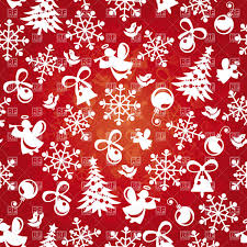 Abstract Background With Festive Christmas Decorations Stock Vector Image