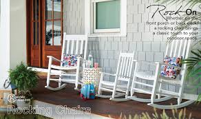 Style Selections Wood Rocking Chair(s) With Slat Seat At Lowes.com