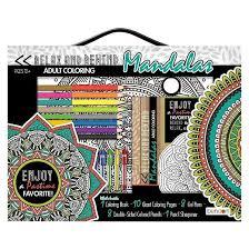 BendonR Adult Coloring Book Kit