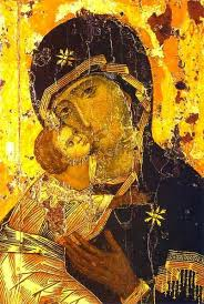 A Depiction Of Jesus And Mary The Theotokos Vladimir 12th Century