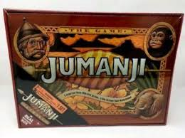 Image Is Loading NEW JUMANJI BOARD GAME CARDINAL EDITION IN REAL
