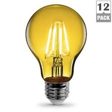 yellow indoor outdoor led bulbs light bulbs the home depot