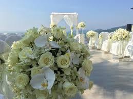 100 Cape Sienna Phuket Magnificent Beach Wedding Backdrop At
