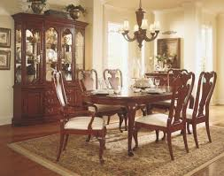 Matched Set Cherry Queen Anne Dining Room Furniture