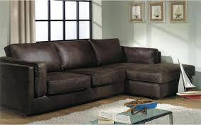 canapé d angle marron canapé d angle aspect cuir marron