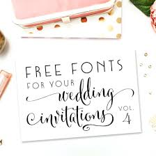Free Fonts For Wedding Invitations 8224 As Well Weddings And 34