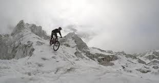 vtt kilian bron ride les glaciers du massif du mont blanc