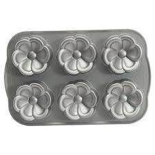 Nordic Ware Buttercup Cakelet Pan HSNCOM Baking Supplies Tools Pans