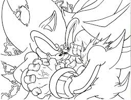 Super Sonic Coloring Pages Kidsfree