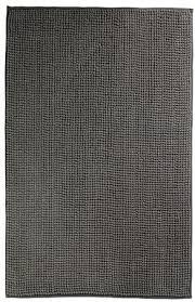 ikea toftbo badematte in grau 60x90cm