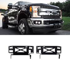 Rigid Industries® 41619 - Grille Mounts For 2x6