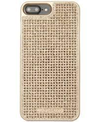MICHAEL Michael Kors Letters iPhone 7 Plus 8 Plus Case Handbags