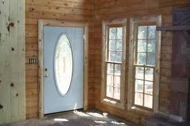 Front 20Door 20Trim A Beautiful Log Cabin Railing Window Trim Door Rustic Ideas