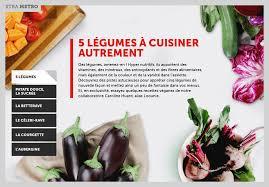 cuisiner les l馮umes autrement 5 légumes à cuisiner autrement la presse