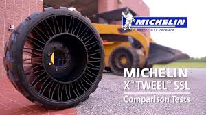 Michelin's Newest Airless Tires Are A Breakthrough Innovation In The ... China Best Selling Radial Truck Tyre Airless Tire Tbr 31580r22 Tires On Earth Youtube New Smooth Solid Rubber 100020 Seaport For Ming Titan Intertional Michelin X Tweel Turf John Deere Us Road To The Future Tires Video Roadshow Cars And Trucks Atv Punctureproof A Forklift Eeeringporn 10 In No Flat 4packfr1030 The Home Depot Toyo Used Japanese Tyresradial Typeairless Dump Special 1020 Military Buy Tires