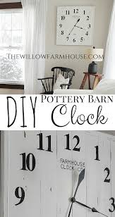DIY Pottery Barn Clock | Amazoncom Outdoor Clocks Patio Lawn Garden Diy Sofa Table 2 Stools Painted With Coats Of Paint A Piece Sofa Barn Couch Amazing Pottery Sectional Sofas Couches 25 Unique Barn Hacks Ideas On Pinterest Decorating Awesome Mantel For Home Interior Design Is It Time For An Update Try Statementmaking Wall Clock Weve Bedroom Loft Beds Kids Expansive Bamboo Alarm Brown Stained Mahogany Wood Coffee Green Pattern Uniquehesdiyroomdecorpotterybarndskitchen