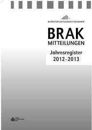 Brak Mitteilungen Brak Mitteilungen Jahresregister Pdf Free