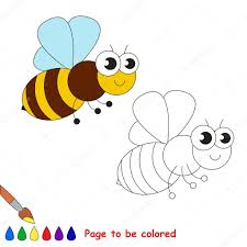 Dibujos Dibujo De Abeja Para Niños Dibujos Animados De La Abeja