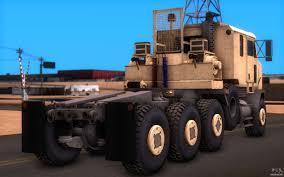 100 Het Military Truck Oshkosh M1070 HET Tank Transporter For GTA San Andreas